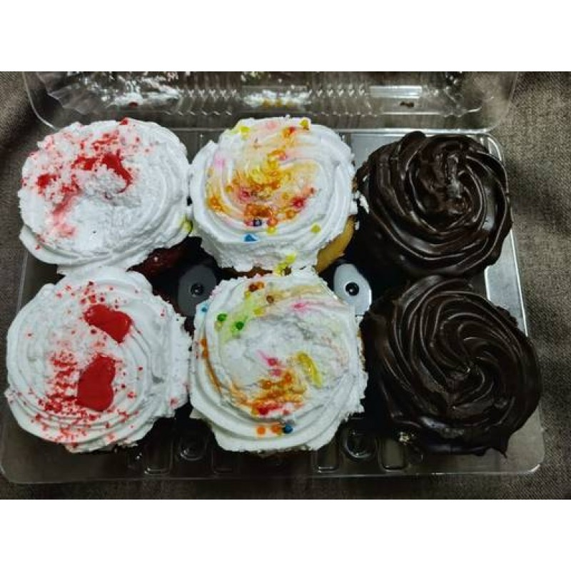 gluten free eggless Healthy cup cakes