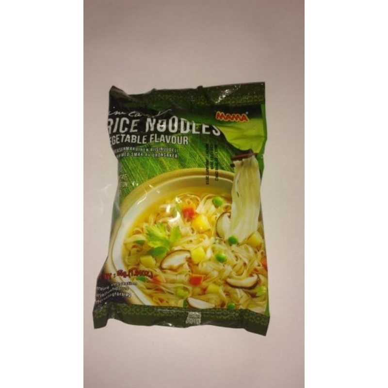 Mama Instant rice gluten free noodles with vegetab...