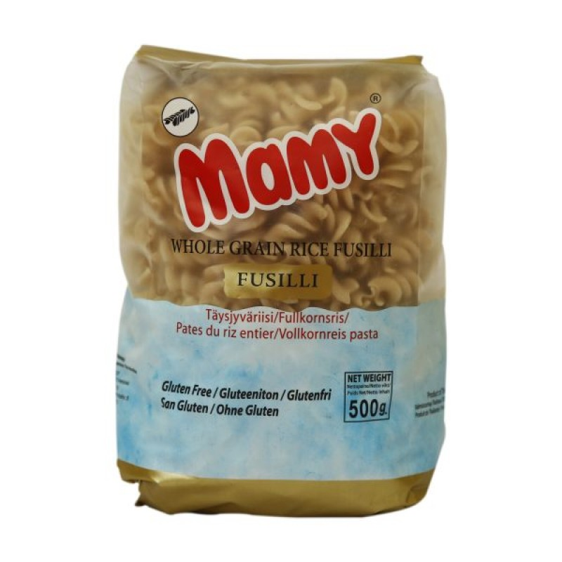 gluten free Mamy Wholegrain Rice Pasta